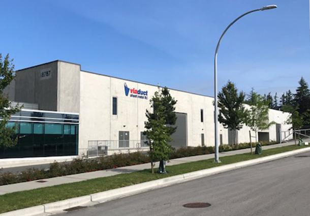 Viaduct Sheet Metal<br>Mfg Facility 72,000 sf.